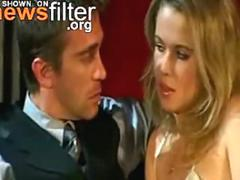 Sexy french babe gives a sweet handjob