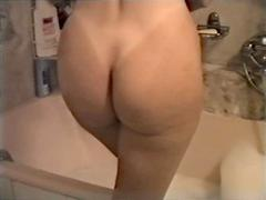 amateur homemade wife shower bath