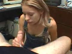 Amateur tiny tits girl gets her ass slammed