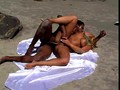 Pamela Butt and William Carioca doing it nasty on the beach