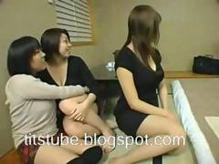 Japanese massage breasts hot 3