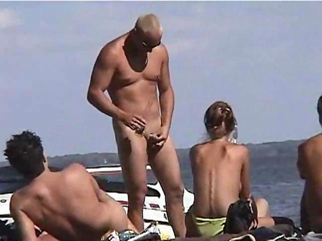Nudist extrem bang gang beach