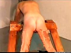 Female prison punishment spanking