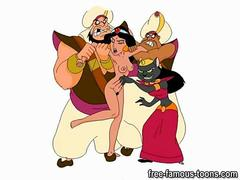 Aladdin and Jasmine sex