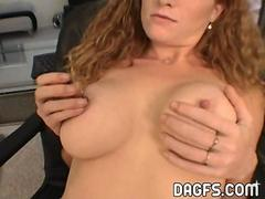 Busty redhead anal fuck amateur