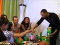 Hot students in hardcore orgy party video 9