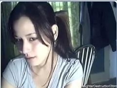 Young girl on cam