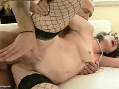 Hot mature woman getting fucked pretty hard video