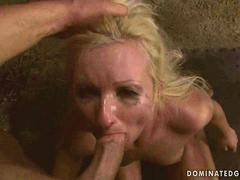 Slavegirl being punished and fucked clip 2