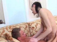 Teen case and ramil in hardcore feature