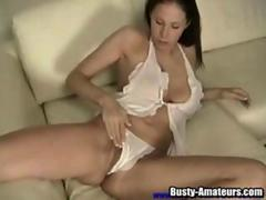 Sexy Gianna stuffing a nice toy