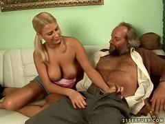 Bearded old chaps Fuck Teens in a Compilation