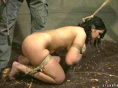 Master playing with his sex slave video