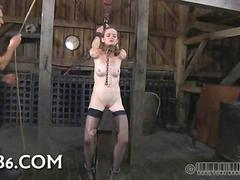 Bdsm Wrethen torment for a babes hot body