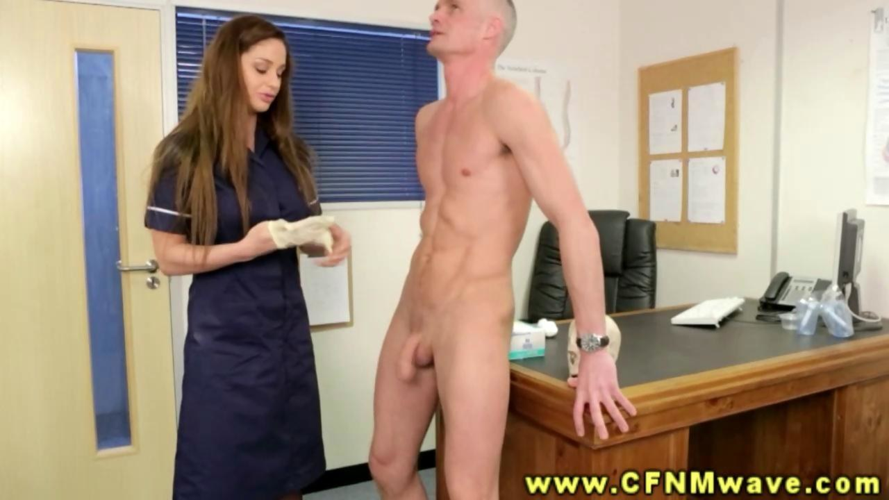 You cfnm medical penis exam assured