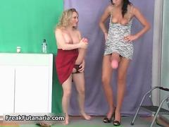 Sexy blonde slut gets horny feature 8
