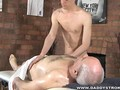 Grandpa Gets A Massage With a Happy Ending