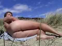 Naturist Boy in the Outdoors sunbathing