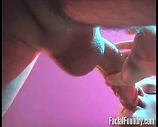 Nervous redhead sucks cock as deep as she can