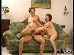 Anica gets screwed good in this bbw Italian threesome