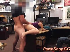 Real shoplifter gets her pussy punished