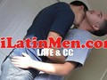 Hot Latin thug blowjob