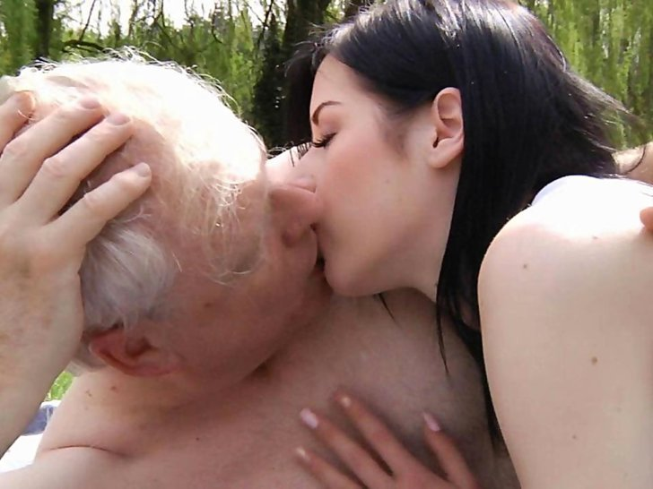 Old man sex with hot girl