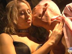 Blonde has fetish to fuck an old man