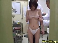 Orientalsex cuties caught on spycam