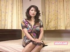 Asian Milf White Cock