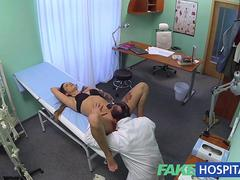 FakeHospital Doctor solves wet pussy problem