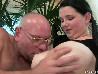 Old cocks vs young pussies clip 2