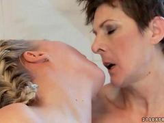 Grannies and Young Girls Pussy Licking Compilation