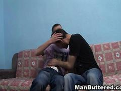 Two Hot and Wild Latino Enjoy Anal fucking  and Blowjob