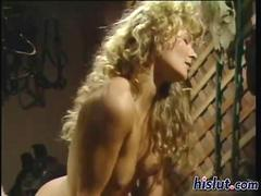 Good looking blonde slut banged by Peter North