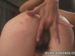 Two Asian sluts to be fucked by two Asian whores