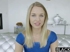 BLACKED Perfect Blonde Lacey Johnson Squirts on Black Cock