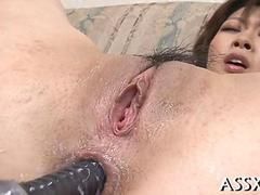 exquisite japanese anal drilling porn