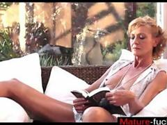 Amazing Granny Fucked and she has a strong orgasm