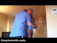 Hotel Housewife Whore Pimped To Black Stud by Hubby