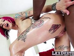 Redhead and curvy Anna Bell Peaks gets destroyed by Lexington