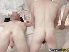 Spanked mormons fucked