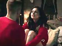 Morena Baccarin tits and legs in sex scenes
