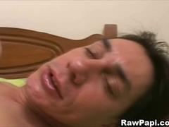 Gay Papis extremely sucking and on wild anal fucking.