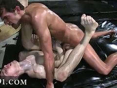 oiled up dudes are ass fucking like crazy during hazing
