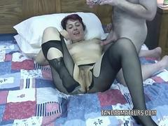 Raunchy coed Raven is getting nailed by an older dude