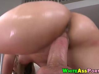 Phat ass ho Charlee Monroe hard fucked by massive cock