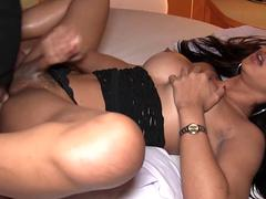 Busty Lb Gets Cock Into Her Ass