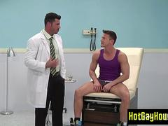 Gay doctor rectal fucking