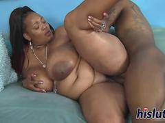 Big black cock for an ebony BBW